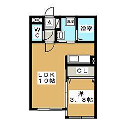 Floresta43[3階]の間取り