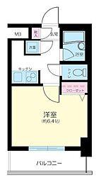 パレステュディオ芝浦 Tokyo Bay[2階]の間取り