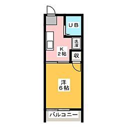 ジョニーズクラブ四ッ谷[1階]の間取り
