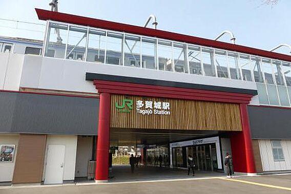 JR仙石線多賀...
