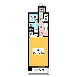 CHIKUSA AVANT-GARDE PLACE[14階]の間取り