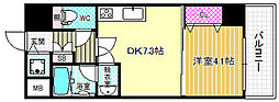 大阪府大阪市北区本庄東3丁目の賃貸マンションの間取り