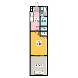 タウンライフ一社東[1階]の間取り