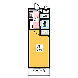 A・City井内町[3階]の間取り