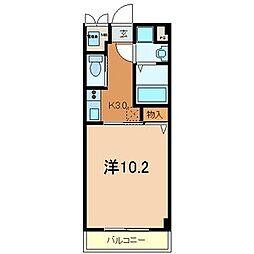 メゾンフォレ[1階]の間取り