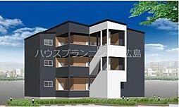 広島電鉄宮島線 草津南駅 徒歩2分の賃貸アパート