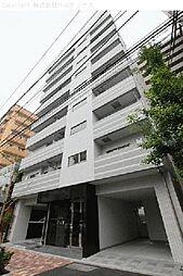 東京都荒川区東日暮里の賃貸マンションの外観
