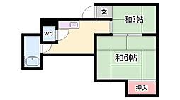 鈴蘭台駅 1.0万円