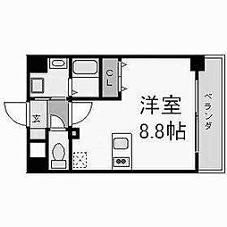 プレサンス名古屋STATIONビジュ[1506号室]の間取り