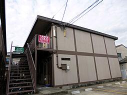 大阪府堺市中区八田西町3丁の賃貸アパートの外観