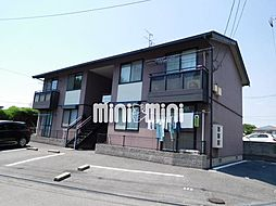 岡山県岡山市中区住吉町1丁目の賃貸アパートの外観