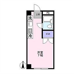 幸常館[2階]の間取り