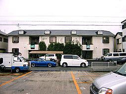 大阪府堺市中区八田西町2丁の賃貸アパートの外観