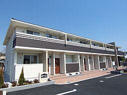 東京都立川市砂川町3丁目の賃貸アパートの外観
