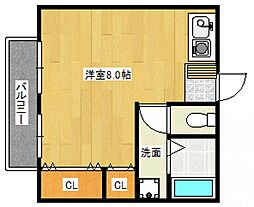 アネックス高屋敷[2階]の間取り