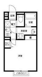 アムールKojima[1階]の間取り
