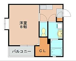 リブレア箱崎駅前[1階]の間取り