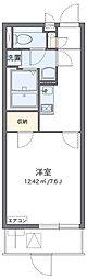 京阪本線 寝屋川市駅 徒歩9分の賃貸マンション 1階1Kの間取り