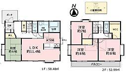 小金井市緑町3丁目 中古戸建 4LDKの間取り