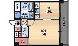 セレーノルーチェ[2階]の間取り