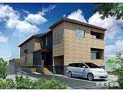 京都府京都市伏見区向島西堤町の賃貸アパートの外観