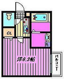 ドレクセル七里[1階]の間取り