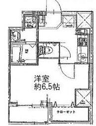 パウロニアバレーテイク8東神奈川[3階]の間取り