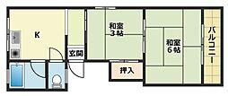 タカオカビル[3階]の間取り