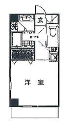 神奈川県横浜市都筑区あゆみが丘の賃貸マンションの間取り