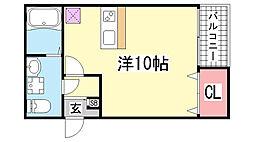 ロフティ三宮[2階]の間取り