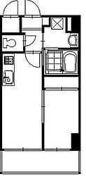 ラコルテ大濠[2階]の間取り