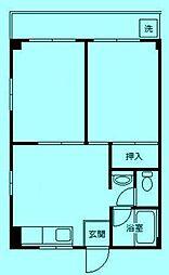 ヒカリハイツ[3階]の間取り
