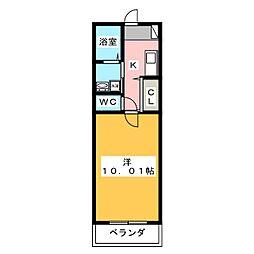 仮)ファンロジュマンII[2階]の間取り