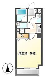 コンフォ清水[2階]の間取り