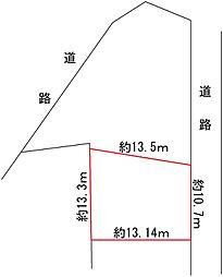 土地(上賀茂小学校前からバス利用、166.00m²、3,000万円)