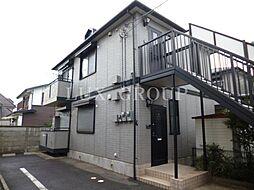 東京都立川市柏町3丁目の賃貸アパートの外観