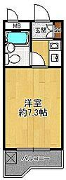 ジョイフル武庫之荘1[210号室]の間取り