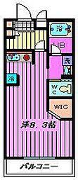 ZCO並木ビル2ND[1階]の間取り