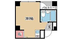 兵庫県神戸市須磨区大田町3丁目の賃貸マンションの間取り