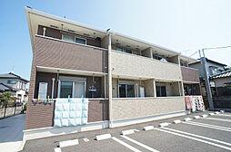 福岡県古賀市今の庄3丁目の賃貸アパートの外観
