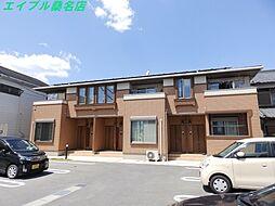三重県桑名市多度町香取の賃貸アパートの外観