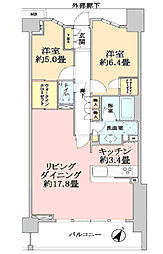 ブランズ宮崎台プレイス509号室