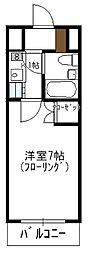 瀬川ビル[703号室]の間取り