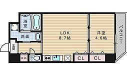 ラ・ジェラータ[11階]の間取り