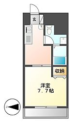 T's Dream名駅(ティーズドリーム名駅)[10階]の間取り