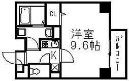 ボヌール[6階]の間取り