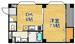 藤本マンション[301号室号室]の間取り
