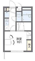 東京都調布市国領町5丁目の賃貸アパートの間取り