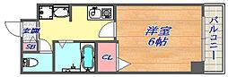 SANKO セレブコート[6階]の間取り