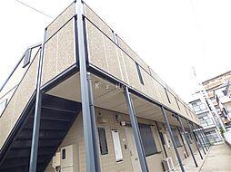 兵庫県神戸市東灘区本庄町1丁目の賃貸アパートの外観